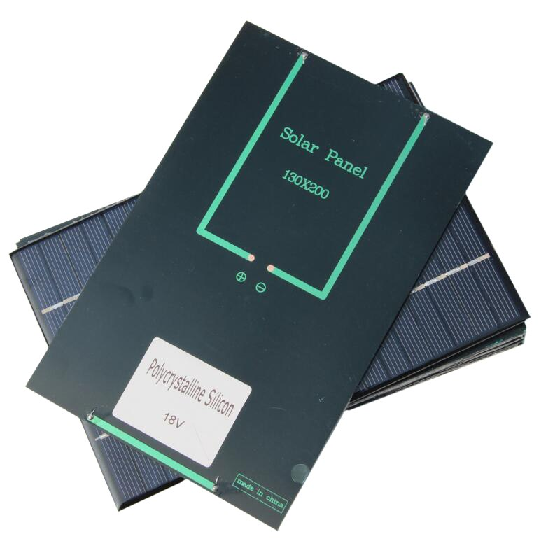 4.2W 6V 12V 18V Polysilicon Epoxy Solar Panel Cell Battery Charger