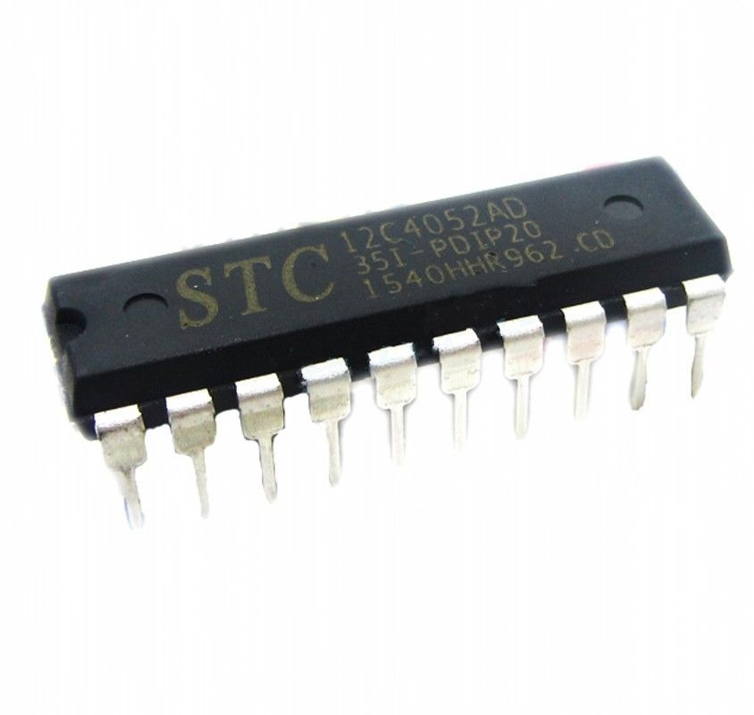 STC Chip  STC12C4052AD-35I-PDIP20 Microcontroller