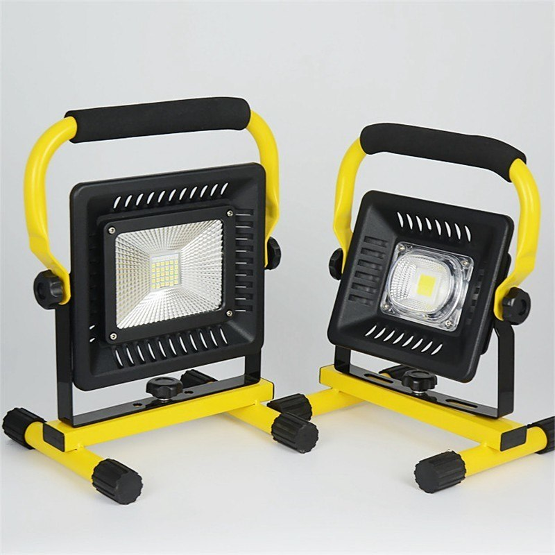 50W Recharge Portable LED Floodlight Waterproof IP65 LED Camping Lamp