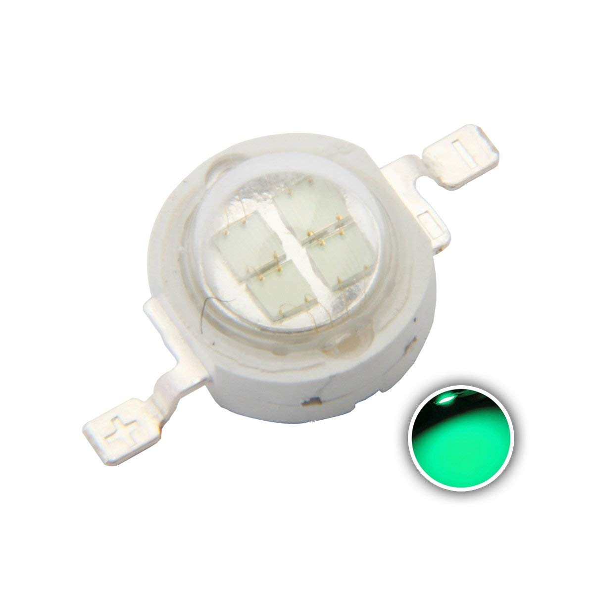5W High Power LED Emitter Red /Green /Blue /Royal Blue /Cyan /Far Red