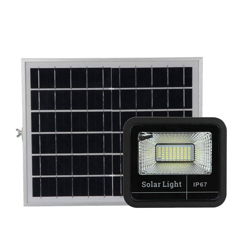 40W 60W 100W 200W 5730 SMD Solar LED Flood Light with Remote Control