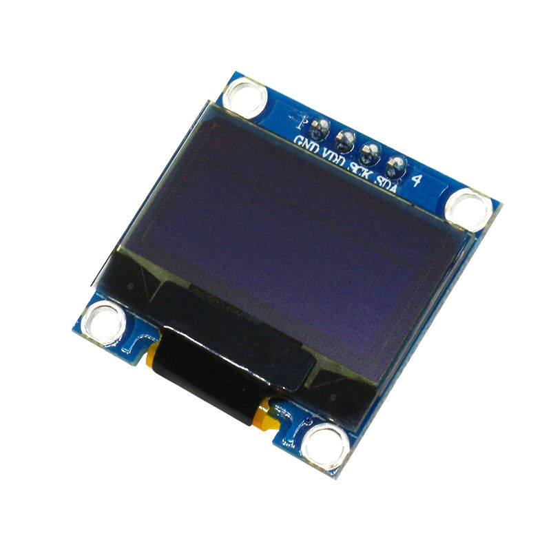 0.96 inch 12864 IIC  OLED  Display Module White/Blue/Yellow-Blue Dual Color
