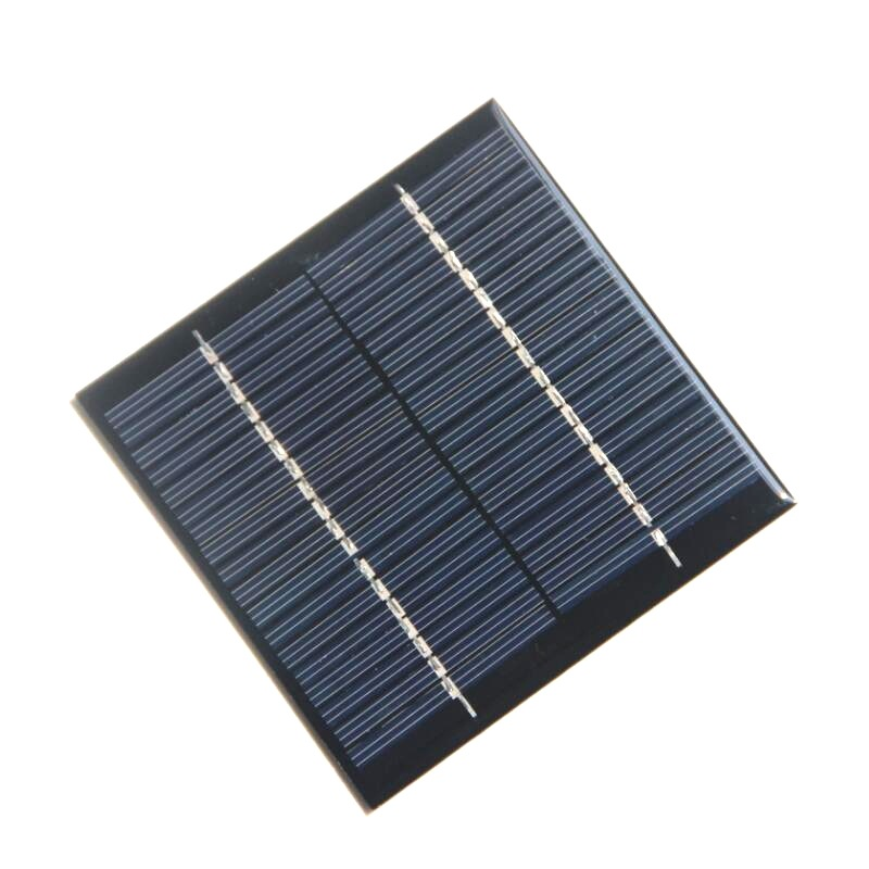 1.2W 18V Polysilicon Epoxy Solar Panel Cell Battery Charger