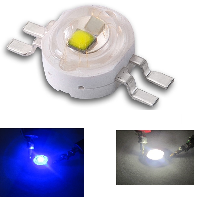 Double Color LED Emitter Red Green Blue Yellow White Led Cob Chip Light Bead