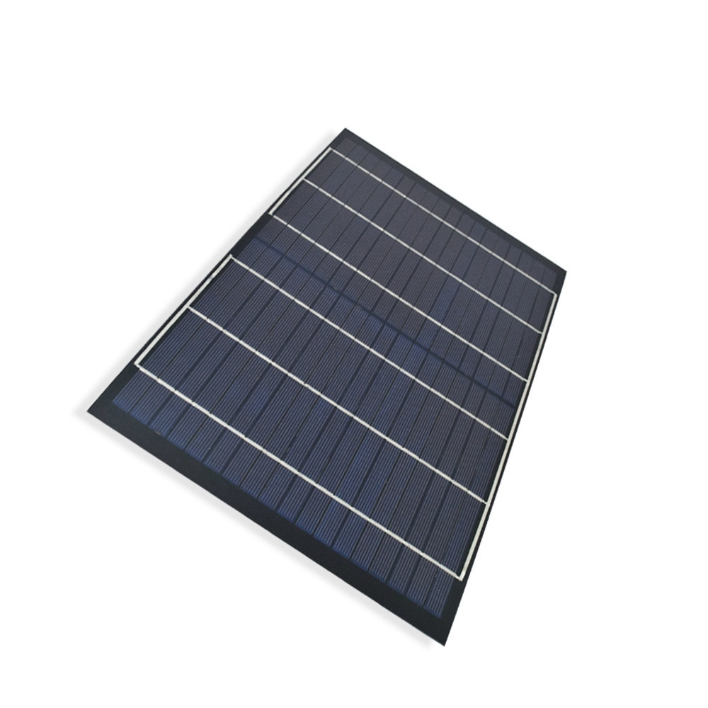 10W 18V Polysilicon Mini Solar Panel for 12V Battery Light