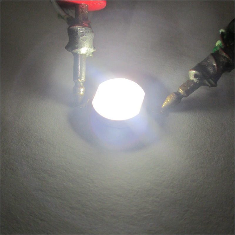 2W High Power Imitation Lumen RGB Led Four Feet Double Color Yellow White