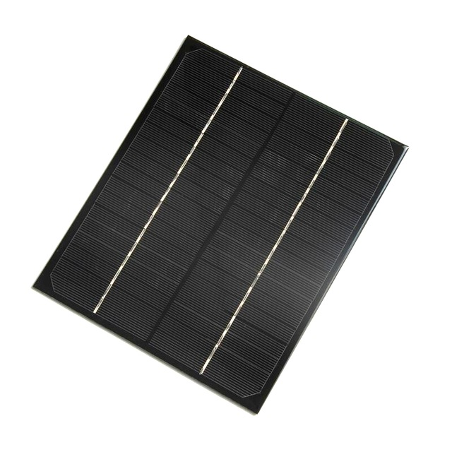 6W 18V Monocrystalline Epoxy Solar Panel Cell Battery Charger