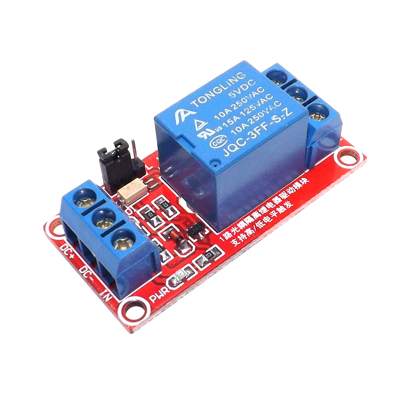 1 Channel Relay Module Board 5V 9V 12V 24V with Ptocoupler Isolation High and Low Level Trigger