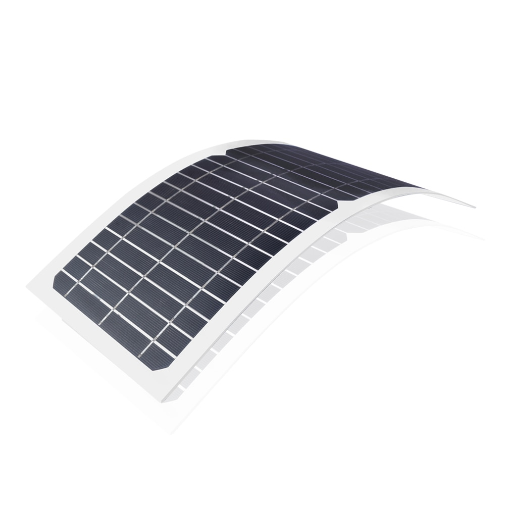 10W 12V Monocrystalline Flexible Solar Panel