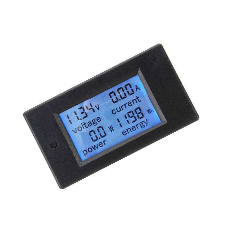 20/50/100A LCD Digital Volt Voltage Watt Current Power Meter Ammeter Voltmeter