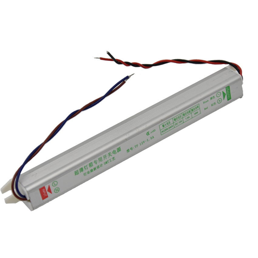 200-240V to DC12V 18W 24W 36W 48W 60W Ultra-thin Driver Power Supply Adapter Transformer for LED Strip Lights