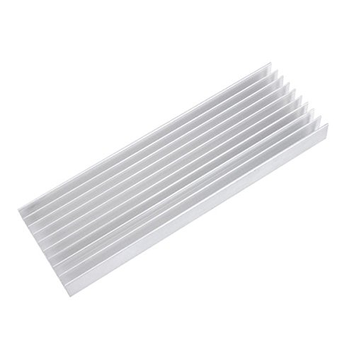 240*76*21mm Aluminum Heatsink Grille Type for 5*3W or 12*1W Power LED