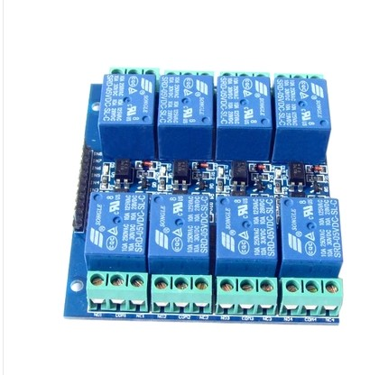 8 Channel Relay Module 5V 10A Optocoupler Isolating