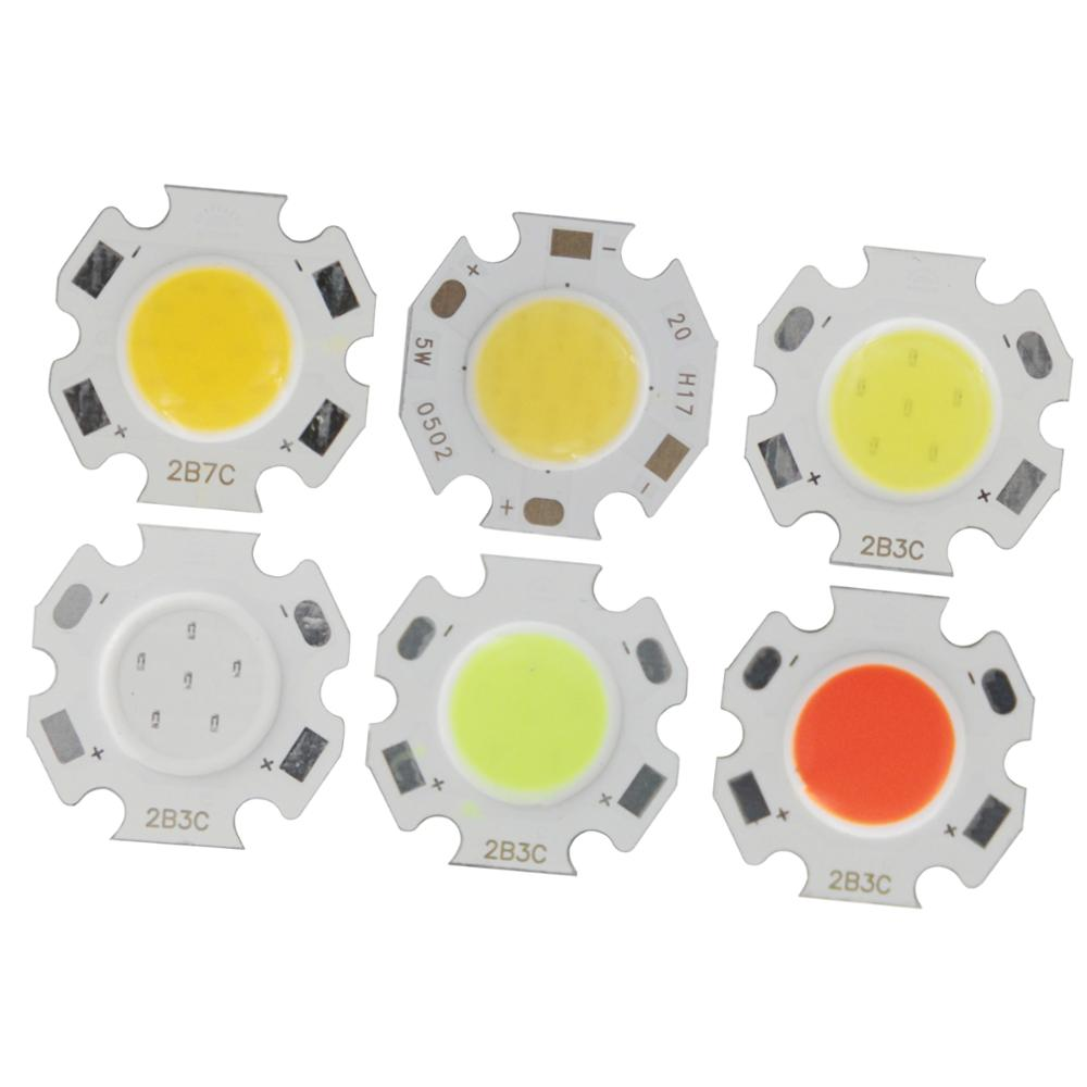 3W 5W 7W 10W 20/11mm Round COB LED light Aluminum LED Light Source Module