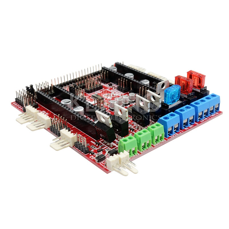Brand 3D Printer Motherboard Reprap RAMPS-FD Shield Ramps 1.4 Control Board Compatible with Arduino Due Main Control Board
