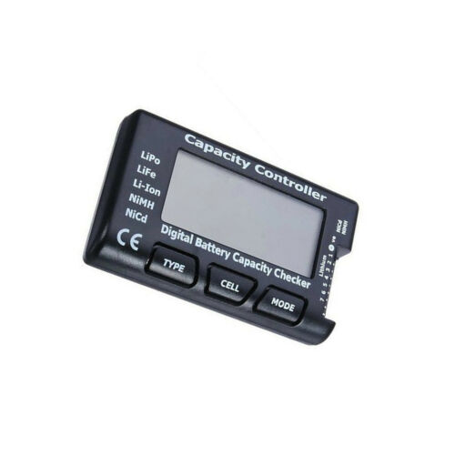 CellMeter-7 Digital Battery Capacity Checker Controller LCD for LiPo LiFe Li-ion NiMH Nicd