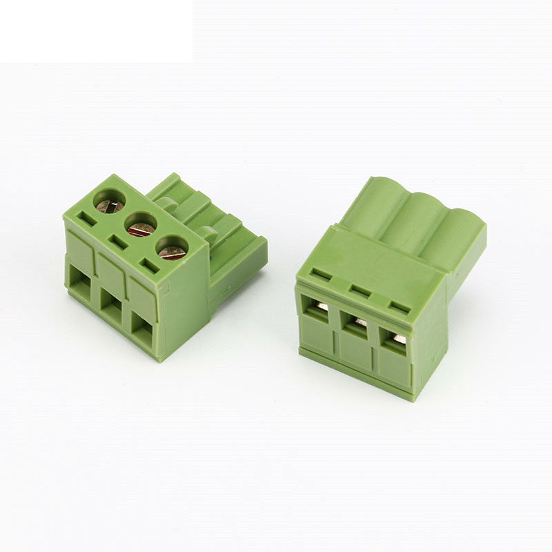 KF2EDGK Pitch Connector Pluggable Screw Through Hole Terminal Block 5.08mm 2P 3P 4P 5P 6P 7P 8P 9P 10P 12P