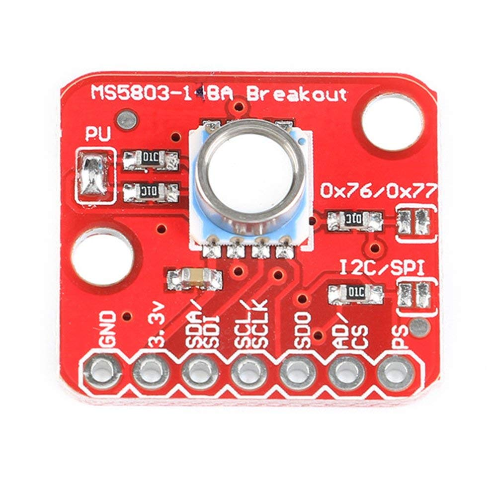 GY-MS5803-14BA High Precision Fluid Liquid Gas Voltage Waterproof Pressure Sensor Module