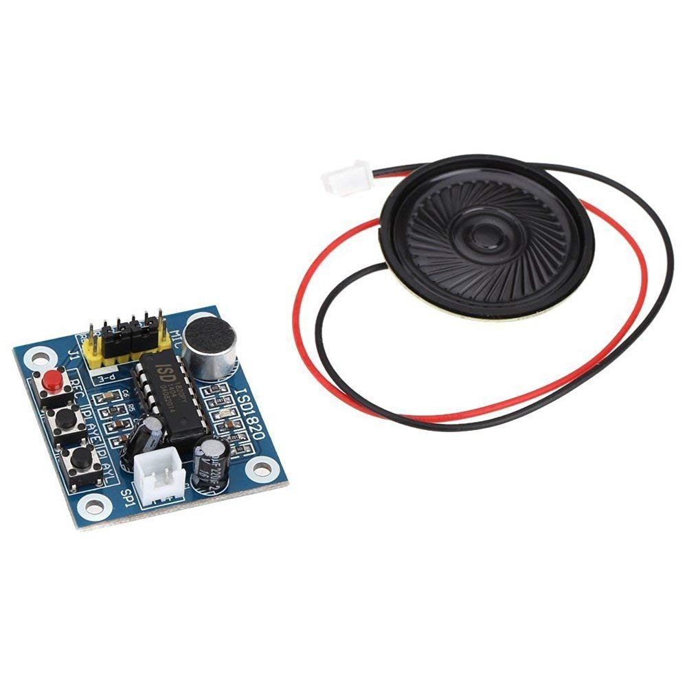 ISD1820 Sound Voice Recording Playback Module PCB Board With Sound Audio Microphone
