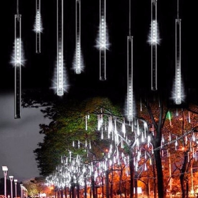 Plug Powered LED Meteor Rain Light 50CM