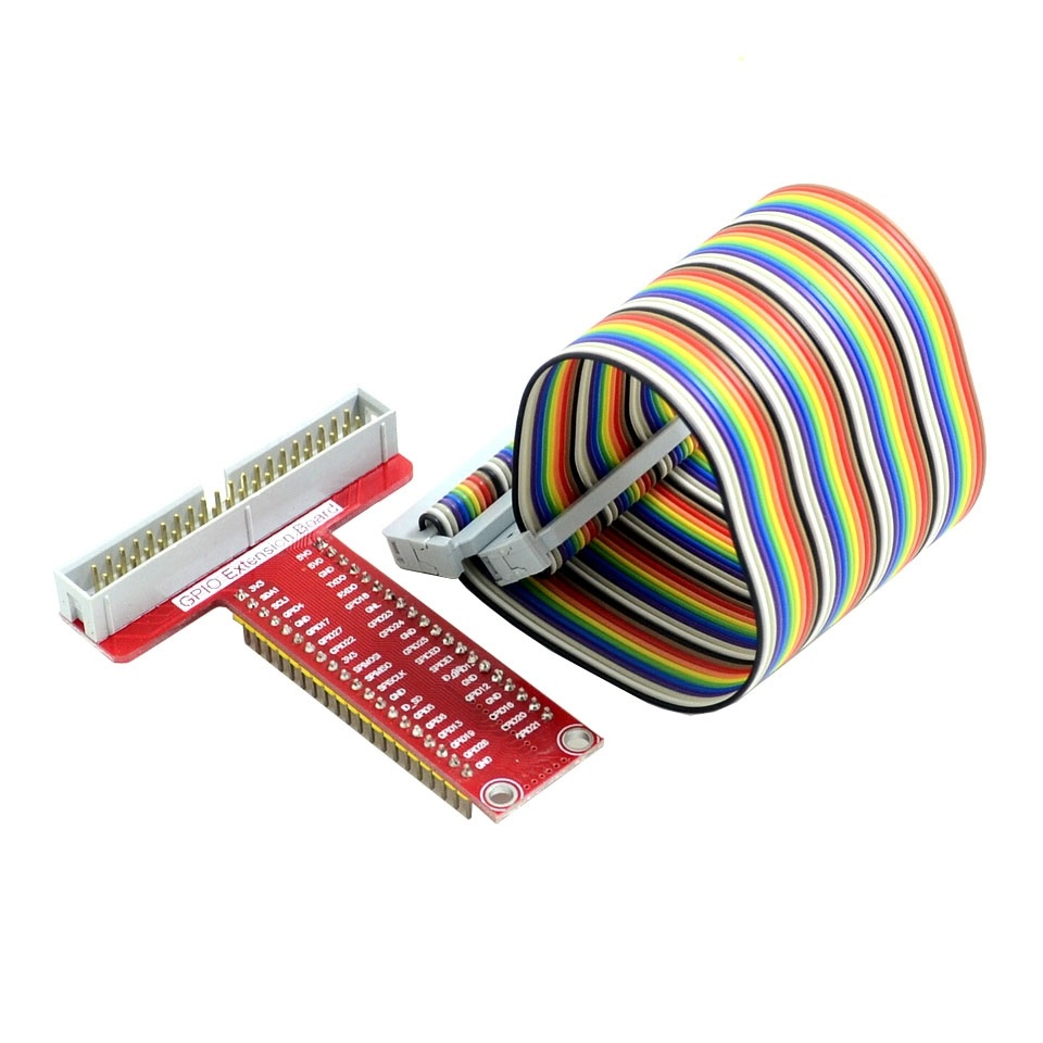 Raspberry Pi B + Accessories T type GPIO expansion board + Raspberry pi 40P cable