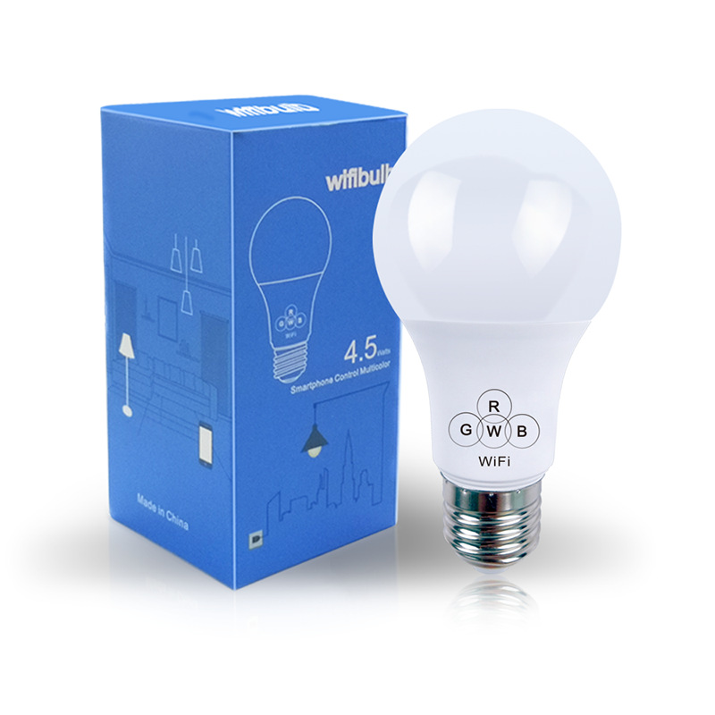 Wireless WiFi Smart LED Bulb E27 E22 RGB Bulb