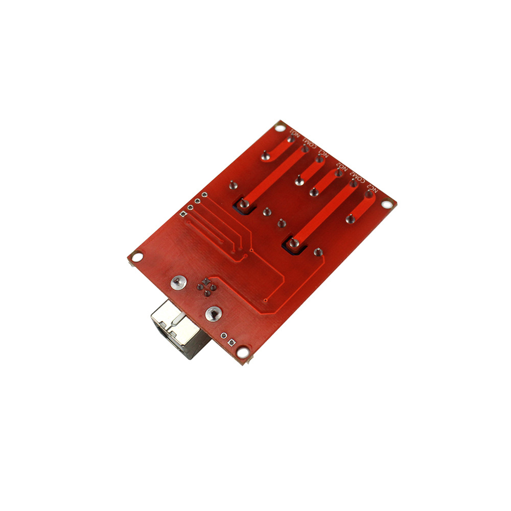 5V USB Relay 2 Channel Programmable Computer Control For Smart Home