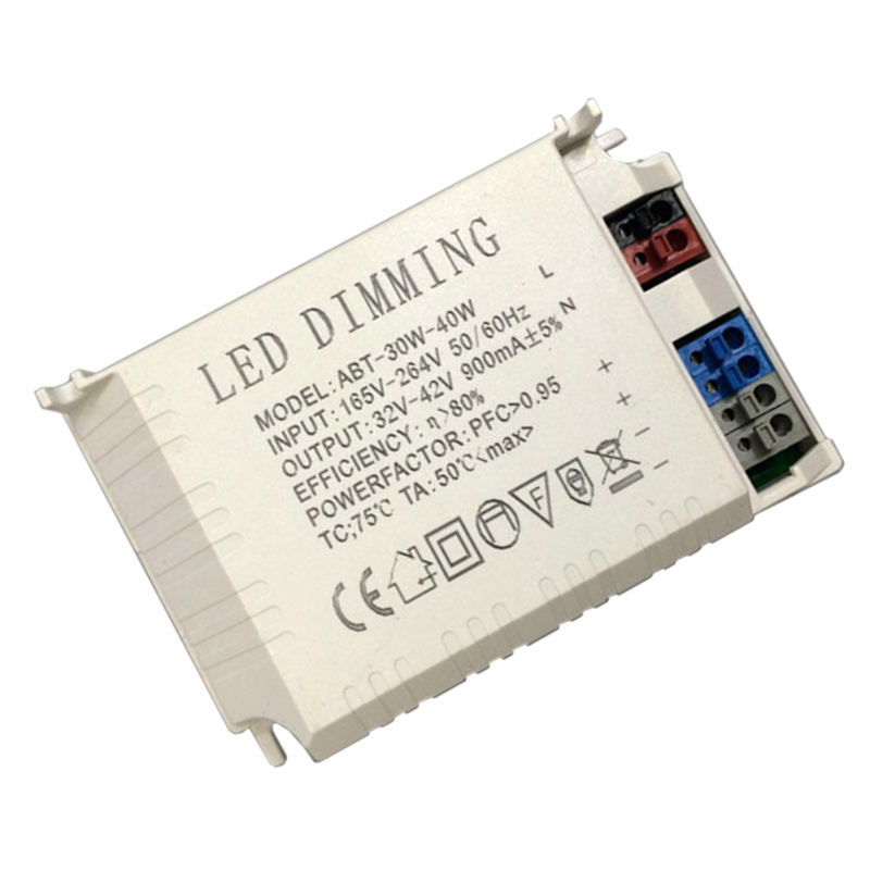 30-40W 600-1000mA LED Dimmable Constant Current Driver 85-265V Input Power Adapter