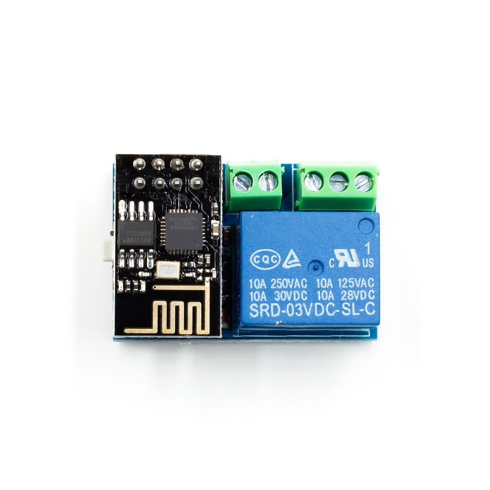 ESP8266 ESP-01S WIFI Relay Module Wireless Remote Control Switch for Arduino Phone APP