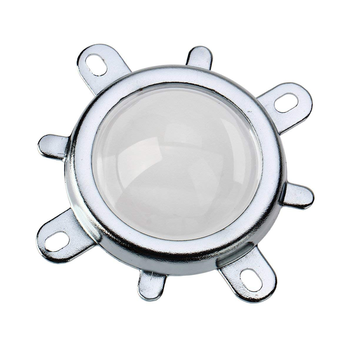 Optical Glass Lens 44mm + 50mm Reflector + Fixed Bracket Holder Suite for 20W-100W Power LED 60/120 Degree Focus