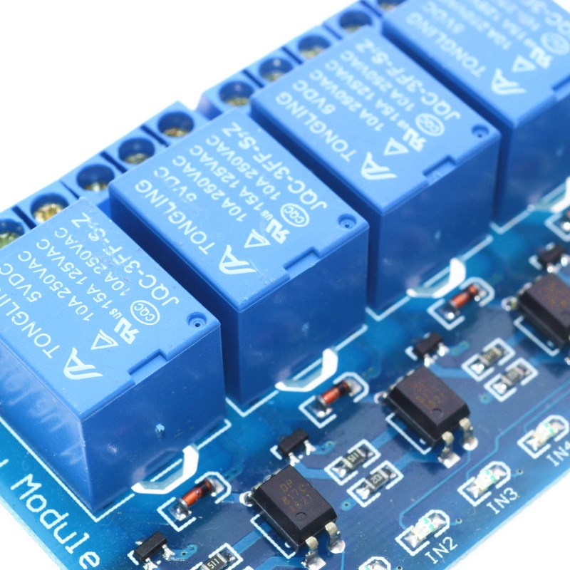4 Channel Relay Module 5V Output for Arduino