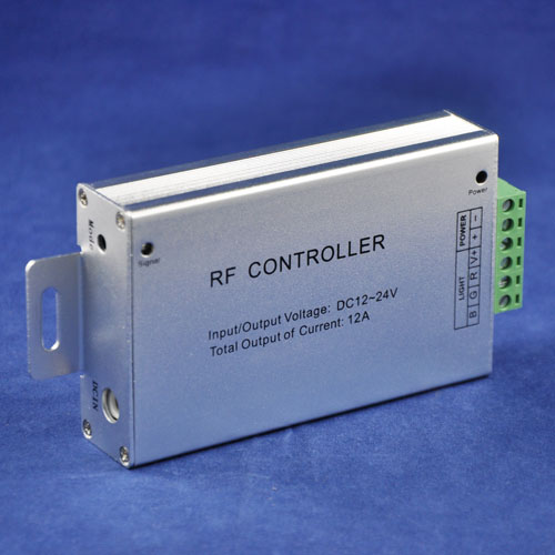 DC12-24V 3 Channels 4A/CH 8-Key RF Wireless LED RGB Touch Controller