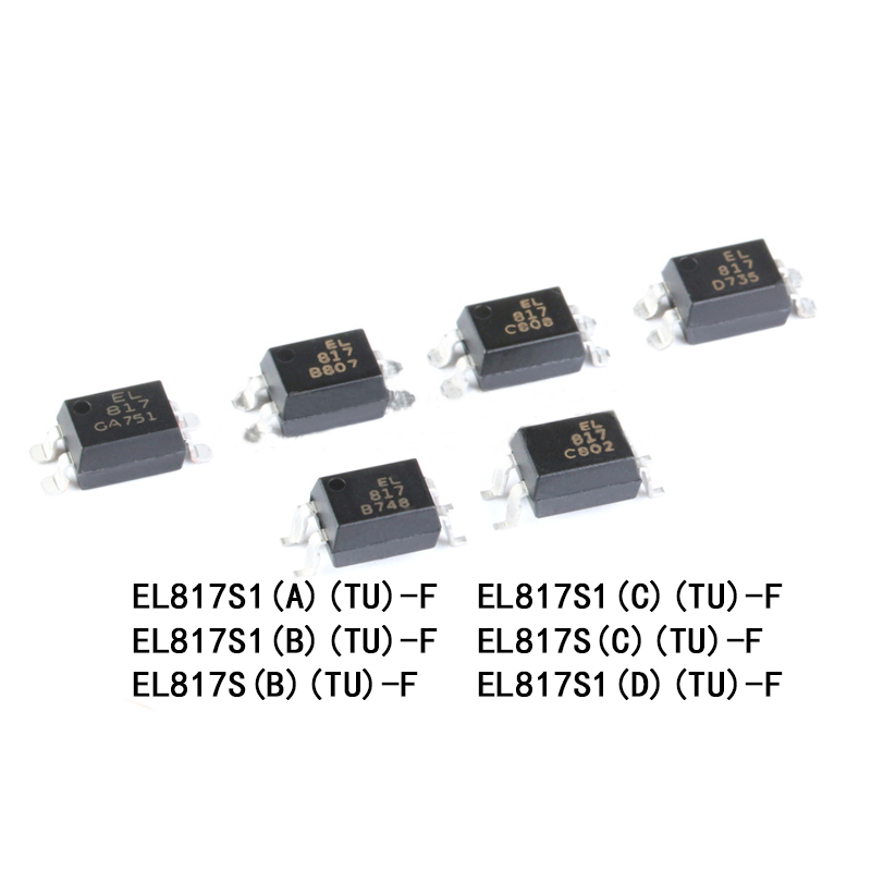EVERLIGHT EL817S1(A)(B)(C)(D)(TU)-F SOP-4 Optocouplers Compatible PC817