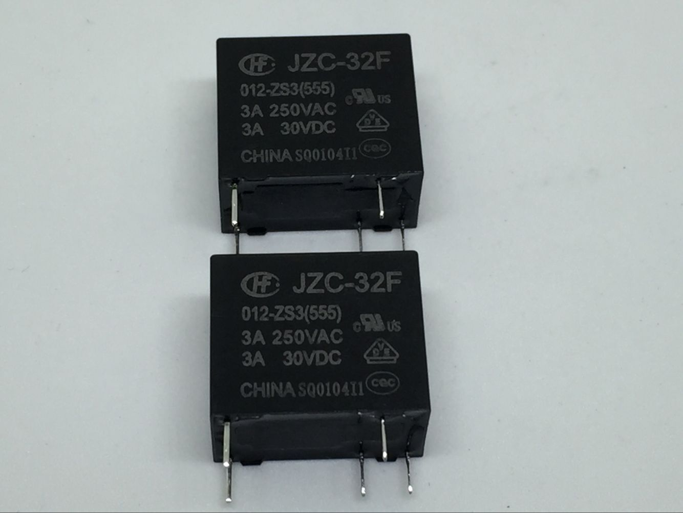 Hong Fa 5Pin Relay 32F-JZC-32F- 005 012 024-ZS3 10A