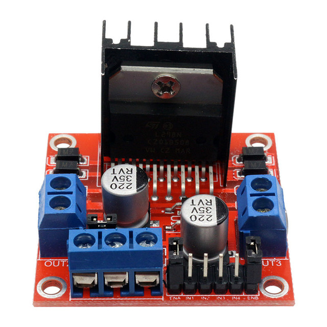 L298N H-Bridge Stepper Motor Driver Module for Arduino