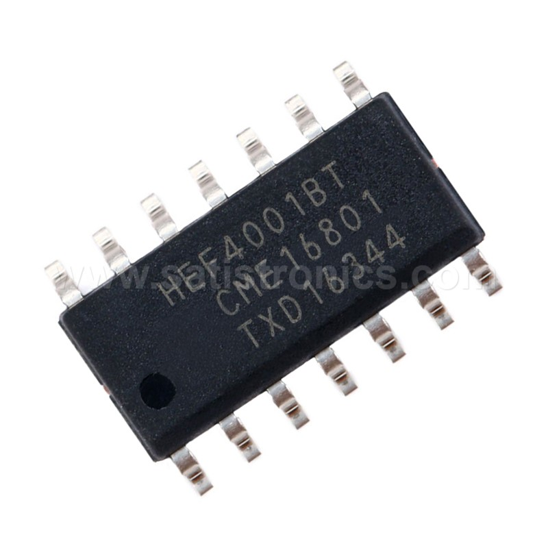 Nexperia HEF4001BT SOIC-14 IC Quad 2-Input NOR Gate