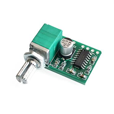 PAM8403 Mini 5V Digital Audio Amplifier Board Module with Switch Potentiometer Can Be USB Powered