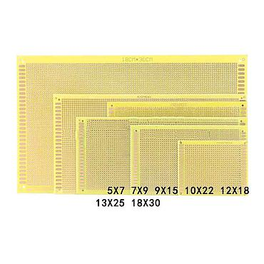 PCB Board 2.54mm Butter Epoxy Board Fiberglass Universal Board