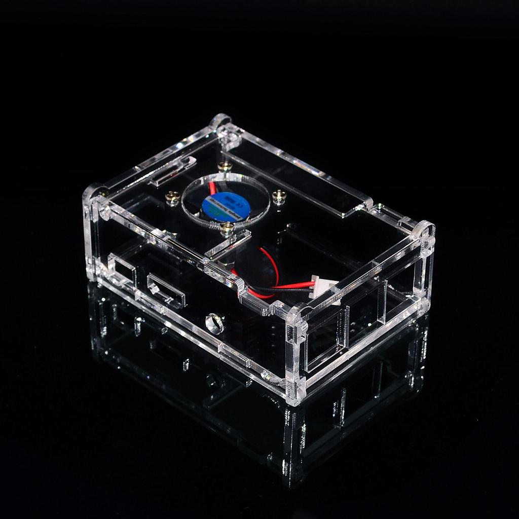 Raspberry Pi 3 Model B+ Transparent Acrylic Case