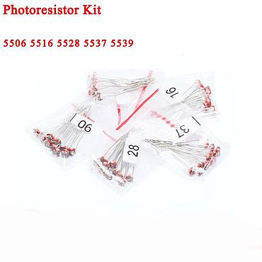 Resistor Photoresistor Assortment Kit 5506 5516 5528 5537 5539  5 Values*10