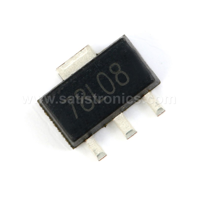 SOT-89 78L08 100MA Three-terminal Liner Voltage Regulator