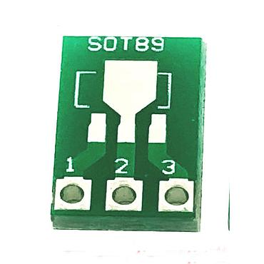SOT89 To DIP SOT223 To DIP IC Adapter PCB Board Converter Plate Double Sides 1.5mm 2.3mm to 2.54mm Pin Pitch Pinboard