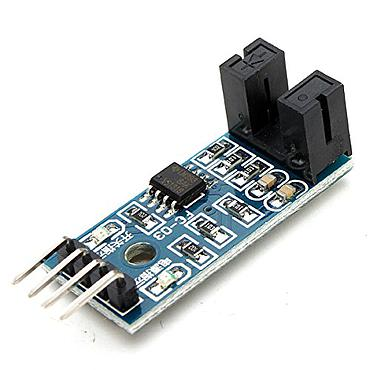 Speed Measuring Sensor Counter Motor Test Groove Coupler Module For Arduino