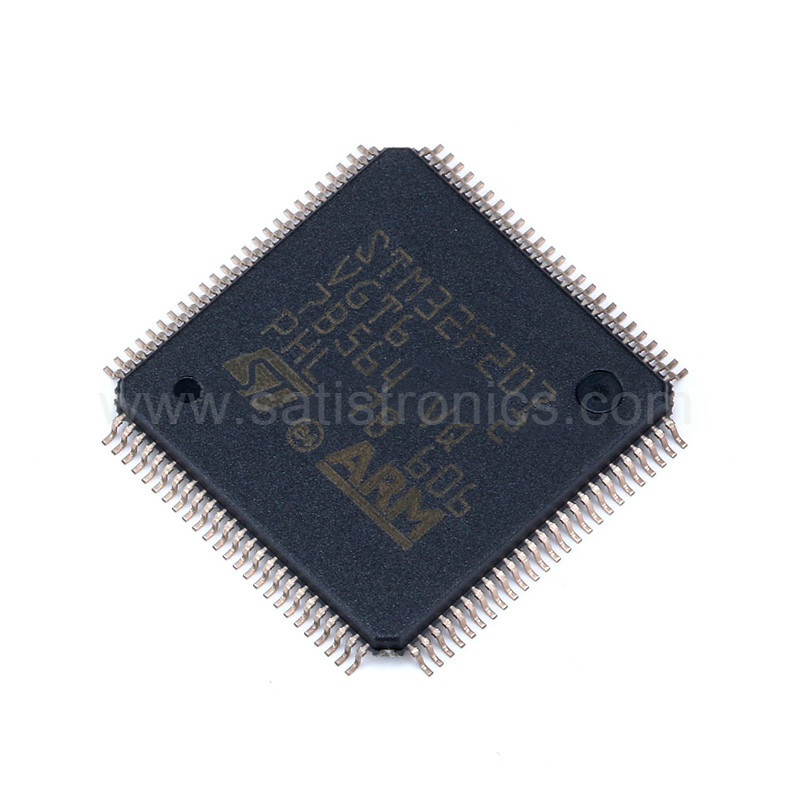 ST Chip STM32F207VGT6 LQFP-100 Microcontroller ARM32 bit  Ethernet MAC