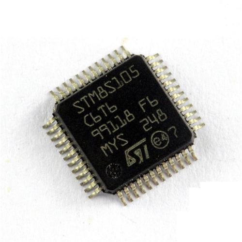 ST Chip STM8S105C6T6 LQFP-48 Microcontroller 8-bit 32k Flash STM8S