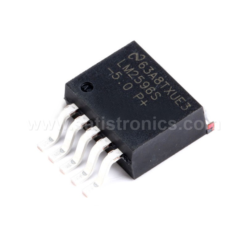 TI LM2596S-5.0 TO-263 Linear Voltage Regulator 5.0V 3A
