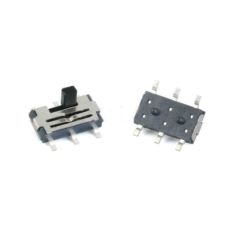Toggle Slide Switch SMD 7*3.5*1.5mm 2Gear 6P Vertical