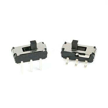 Toggle Switch 9*3.5*3.5mm 6P 2 Gear Vertical SMD/DIP