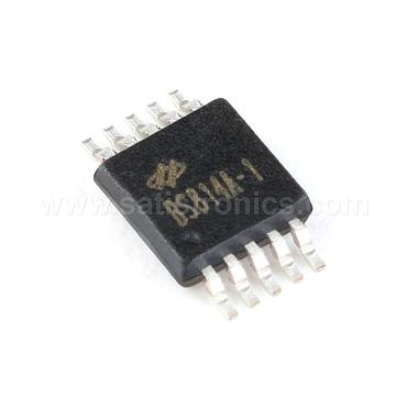TONTEX BS814A-1 MSOP-10 4 Key Touch Detection Chip