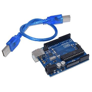 UNO R3 ATmega328 CH340G Mini USB Board Replace ATmega16U2 With USB Cable ONE